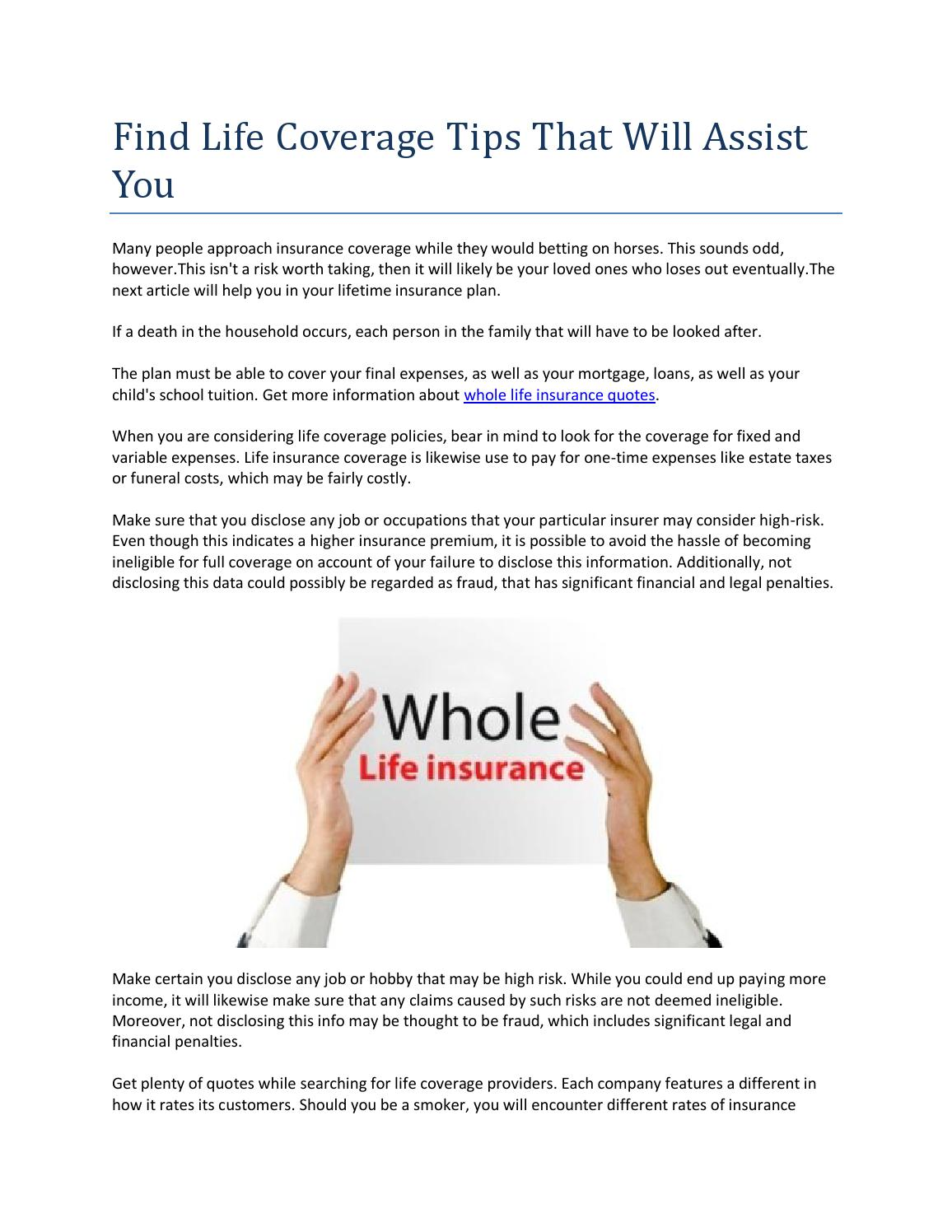 Quote For Whole Life Insurance 100  Quotes For Life Insurance   Download Quote For Whole Life