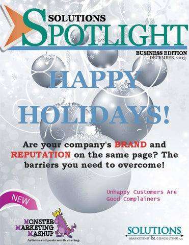 SOLUTIONS SPOTLIGHT - Business Edition 12-13