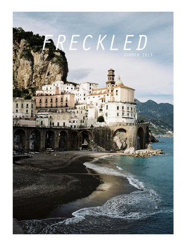 Freckled Summer 2013 cover