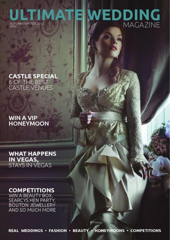 Ultimate Wedding Magazine A/W 2013 Issue 8 cover