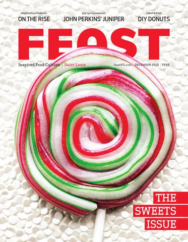 December 2013 Feast Magazine cover