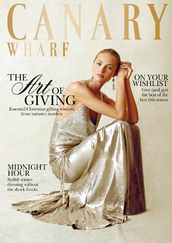 Canary Wharf Magazine December 2013 cover