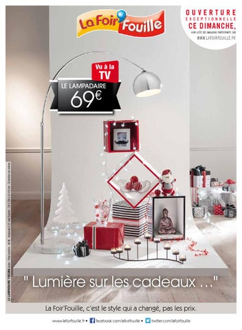 issuu catalogue la foir fouille lumi re sur les cadeaux by joe monroe. Black Bedroom Furniture Sets. Home Design Ideas