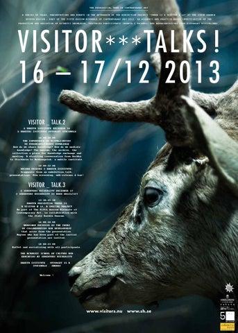 Raketa Poster: Visitor_Talks (16-17 december 2013)