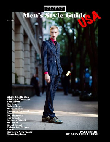 Client Style Guide USA #1 cover