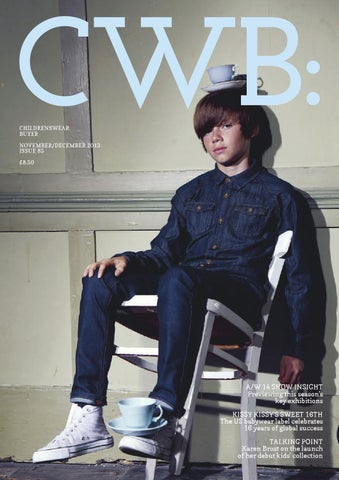 CWB MAGAZINE November/December Issue 85 cover