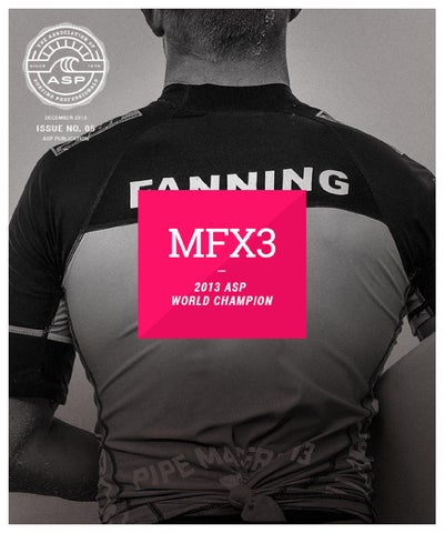 Mick Fanning 2013 ASP World Champion cover