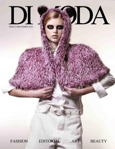 DI MODA Magazine Issue#6 December 2013 cover