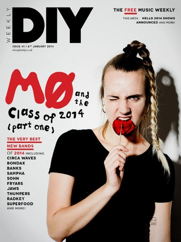 DIY Weekly, 6th January 2014 cover