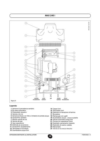 Issuu manuale luna 3 comfort max baxi by baxi spa for Manuale termostato luna in 20 fi