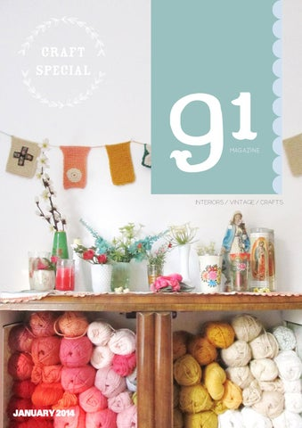 91 Magazine Craft Special cover