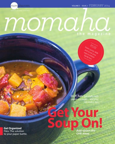 Momaha Magazine - February 2014