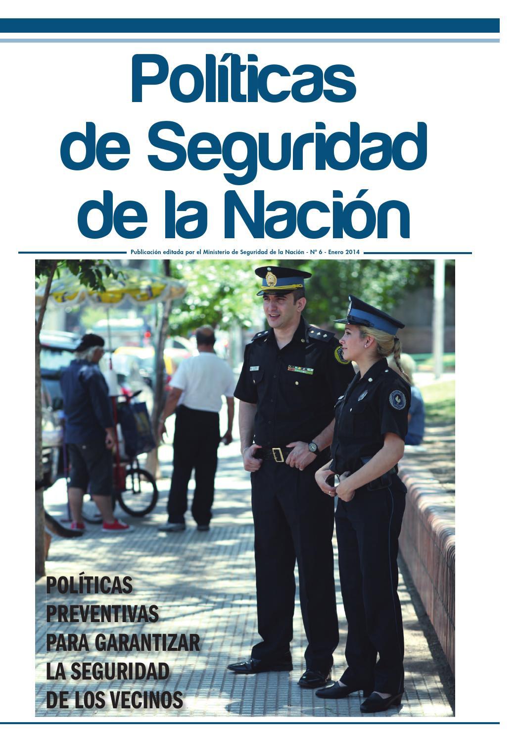 Issuu Pol Ticas De Seguridad De La Naci N N 6 By
