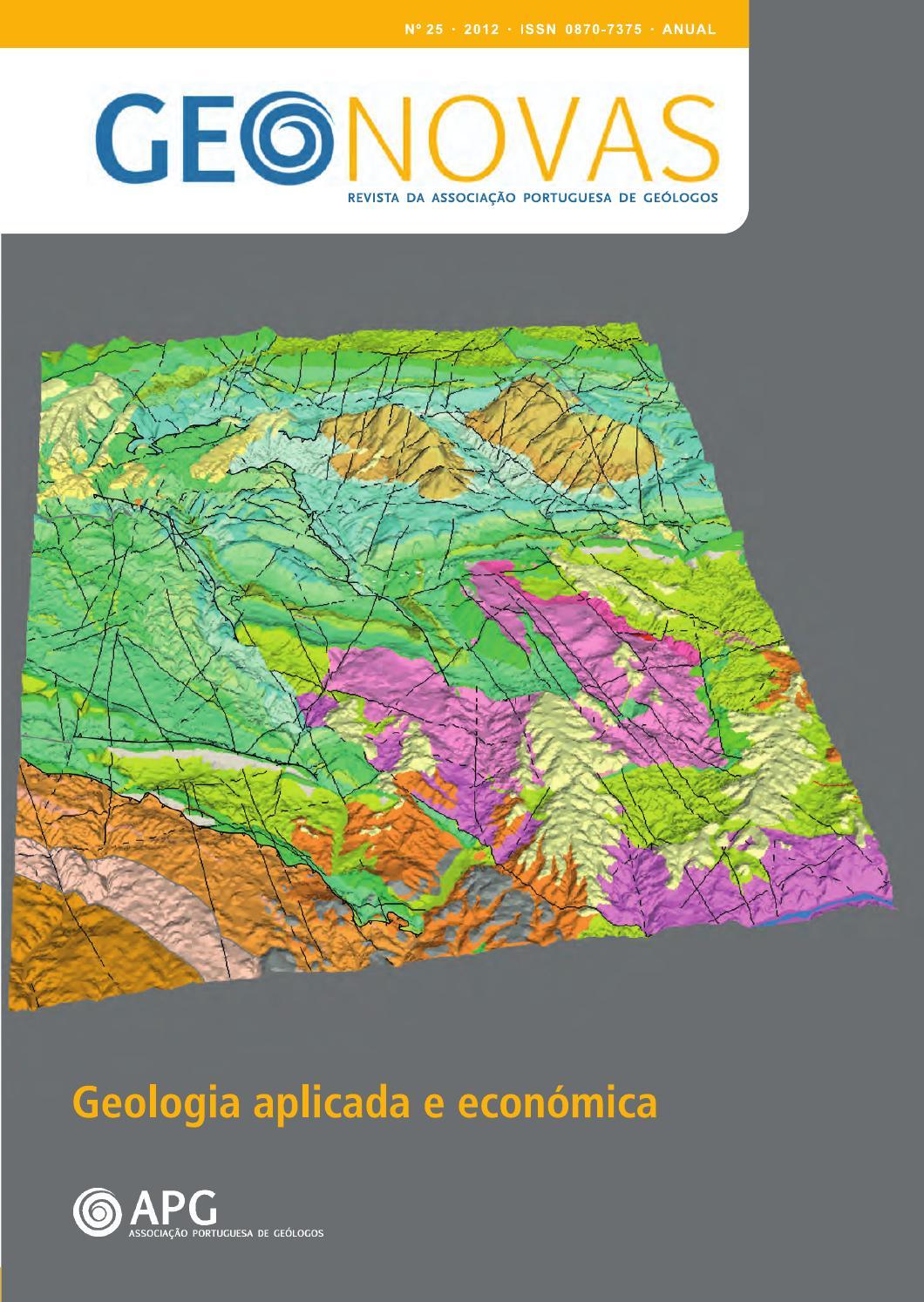 Campaigns >> ISSUU - Geonovas n.º 25 by Associação Portuguesa de Geólogos