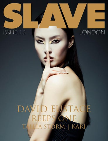 Slave Magazine Issue 13 cover