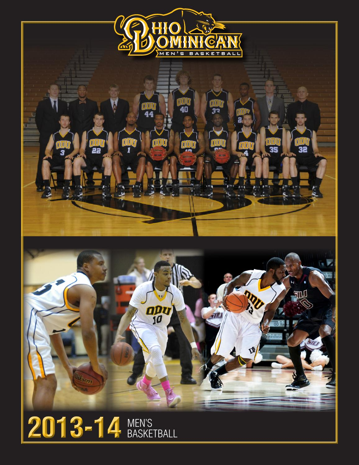 ISSUU - 2013-14 Ohio Dominican Men's Basketball Guide by ...