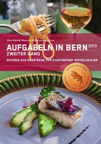 AUFGABELN IN BERN 2013, Zweiter Gang