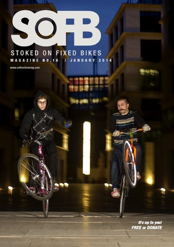 Stoked On Fixed Bikes Issue 16 cover