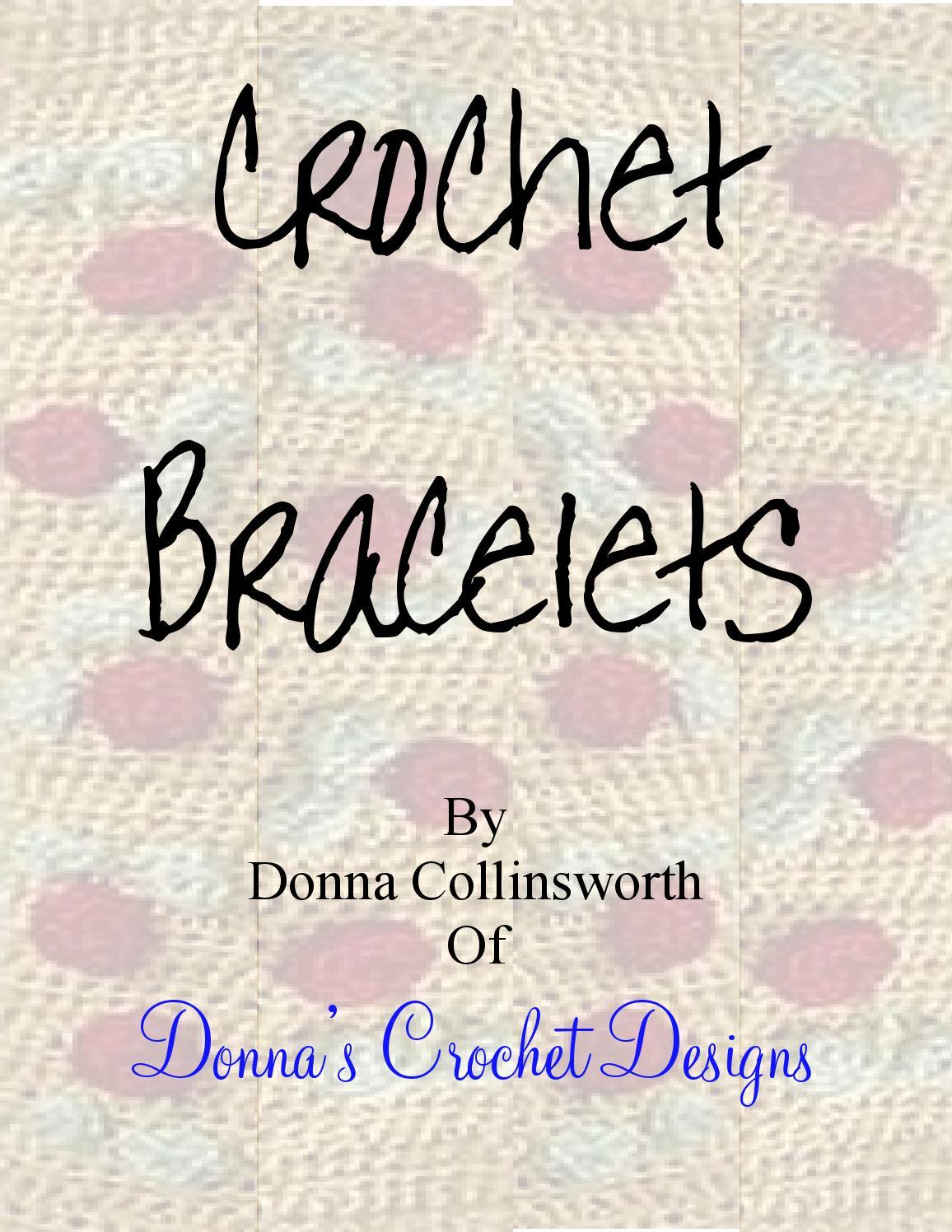 Pulseras Crochet - Magazine cover