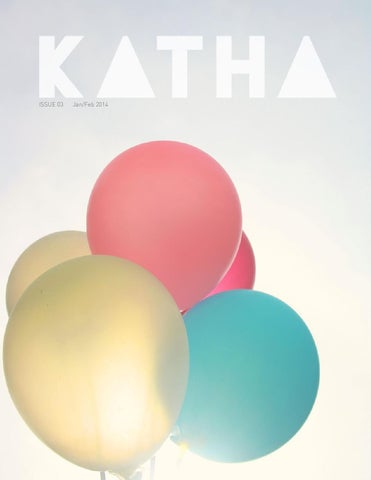 Katha Magazine - Issue 03 Jan/Feb 2014 cover