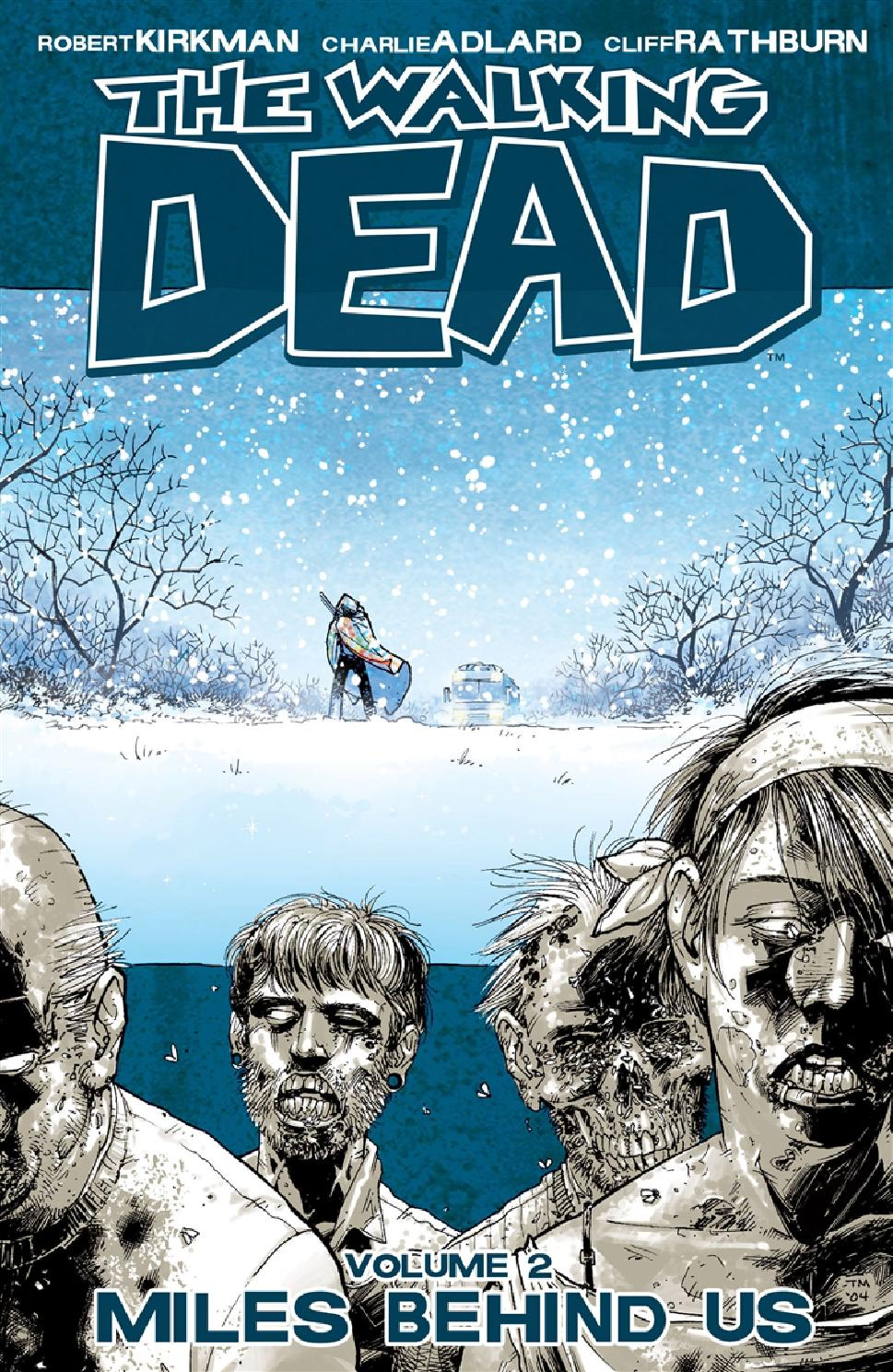 The Walking Dead - Magazine cover