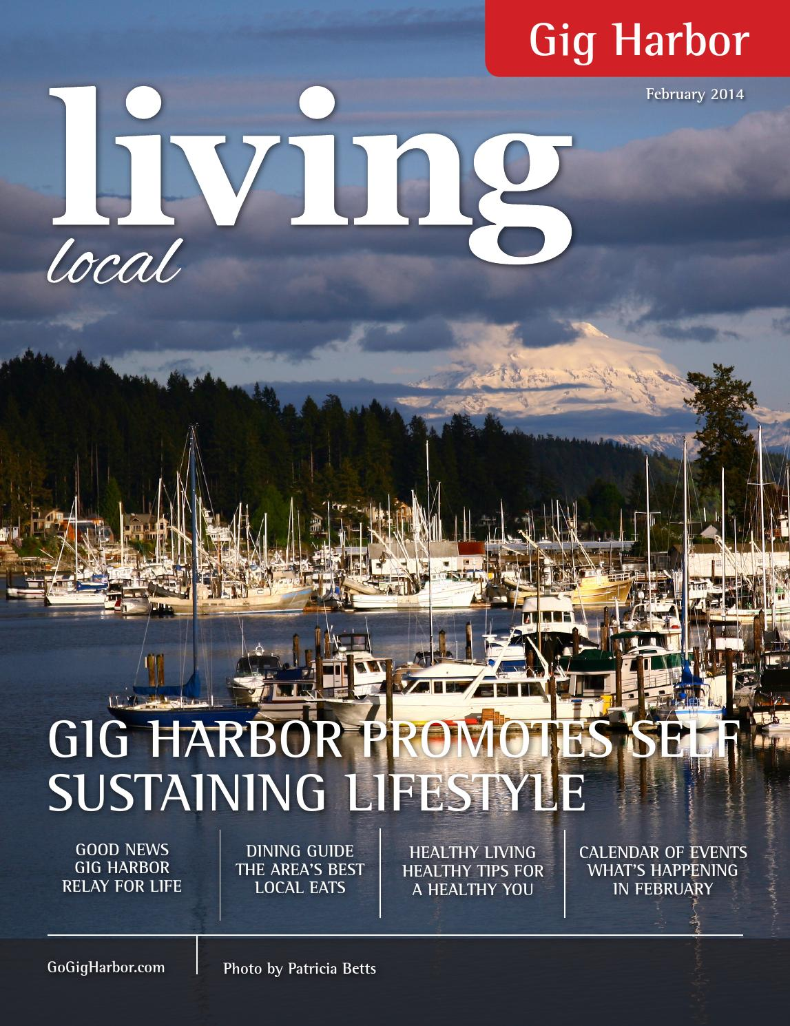 ISSUU February 2014 Gig Harbor Living Local By Like Media