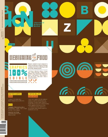 IdN v20n6: Edible Graphics cover
