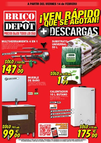 issuu bricodepot catalogue 14 27febrero2014 by. Black Bedroom Furniture Sets. Home Design Ideas