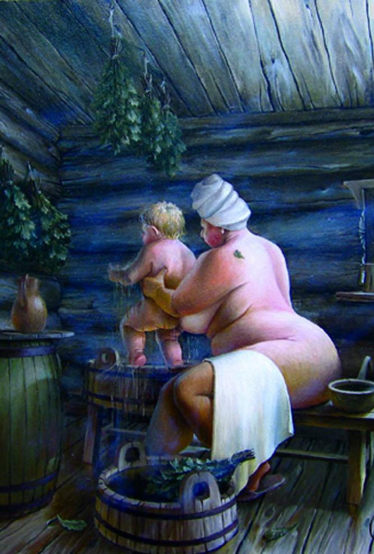 Фото моюсь с мамой в бане 29 фотография