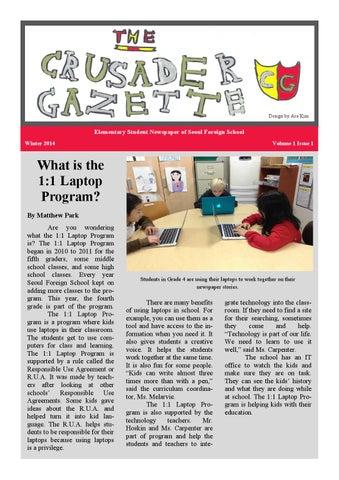 The Crusader Gazette