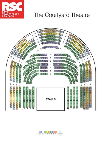 Seating Plans Royal Shakespeare Company Theatre