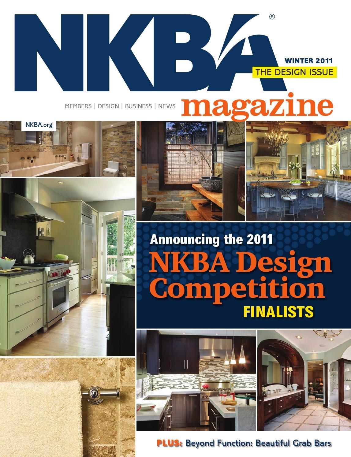 Issuu Nkba Magazine Winter 2011 By National Kitchen Bath Association Nkba