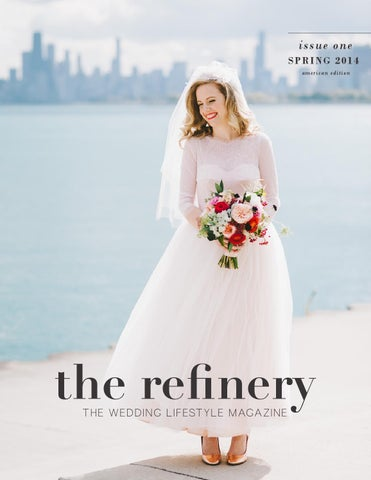 The Refinery Magazine - ISSUE I, The American Edition cover
