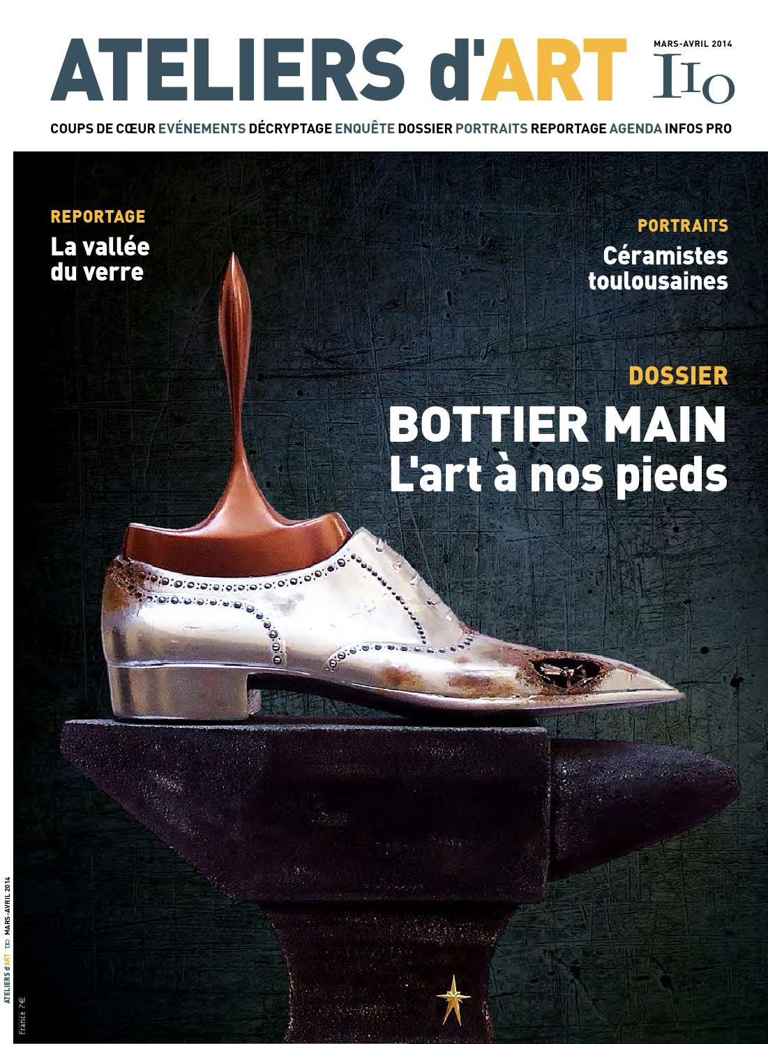 Issuu magazine ateliers d 39 art 110 by ateliers d 39 art de france - Atelier d art de france ...