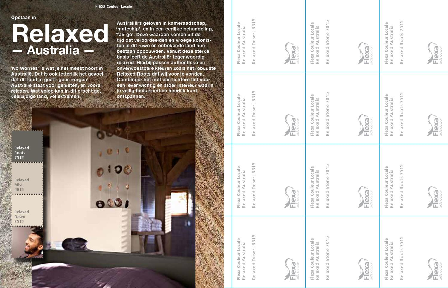 ISSUU - Flexa Couleur Locale - Relaxed Australia by AkzoNobel ...