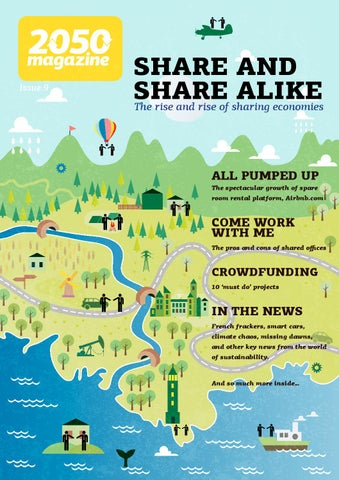 Issue 9 - share and share alike cover