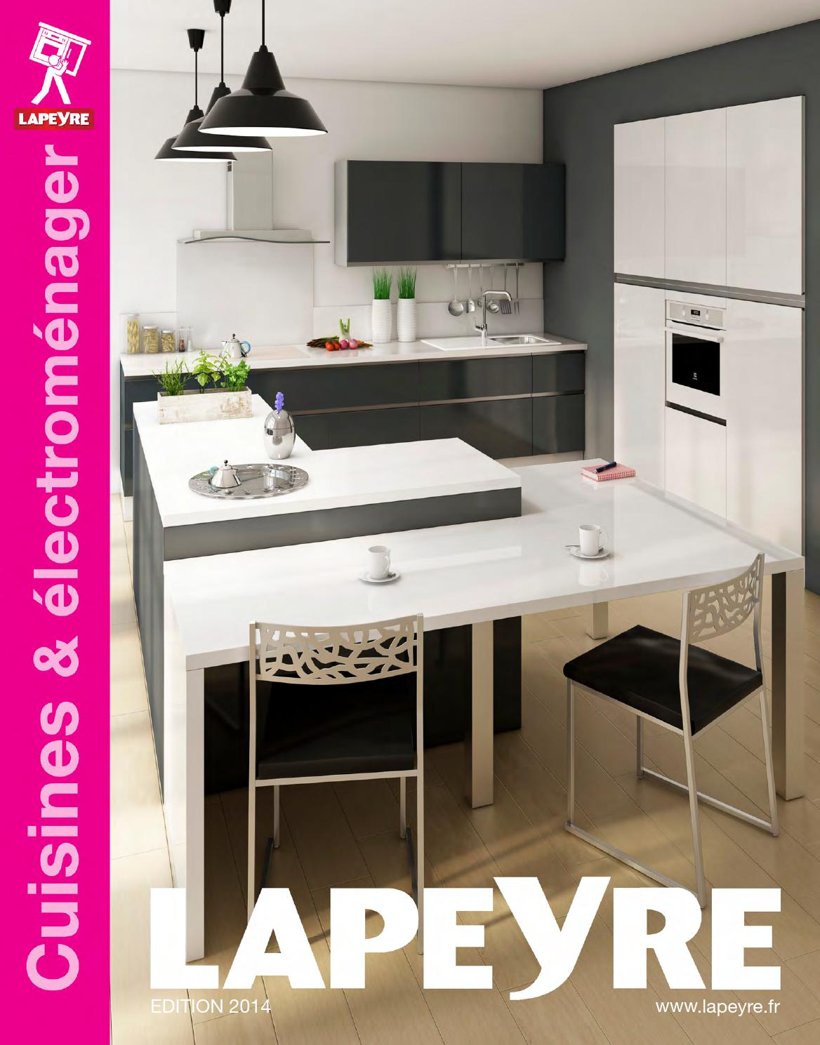 Catalogue lapeyre cuisines lectrom nager 2014 by joe for Cuisine equipee catalogue