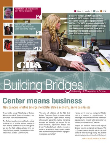 Building Bridges Spring 2014