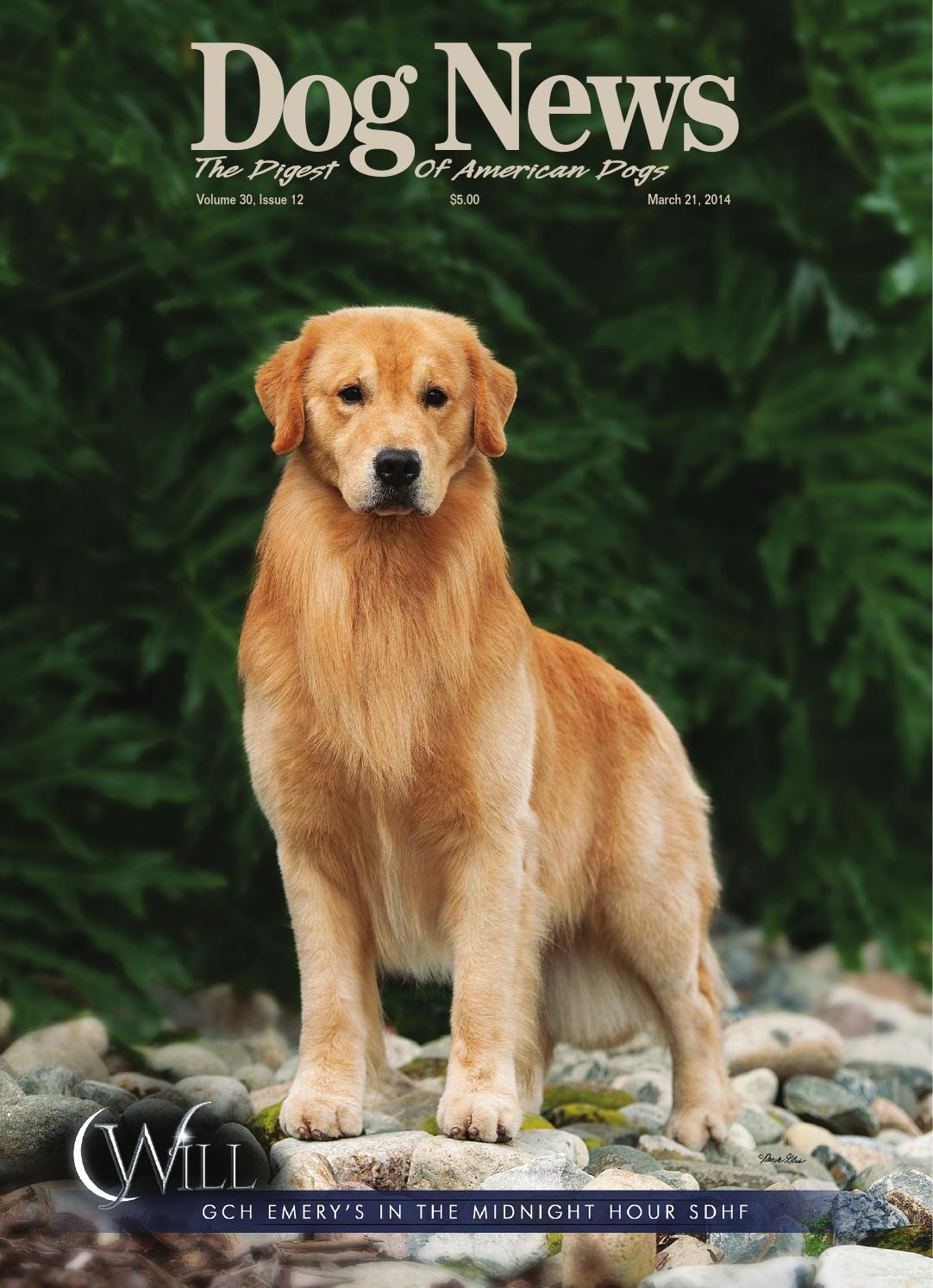 Issuu Dog News March 21 2014 By Dog News