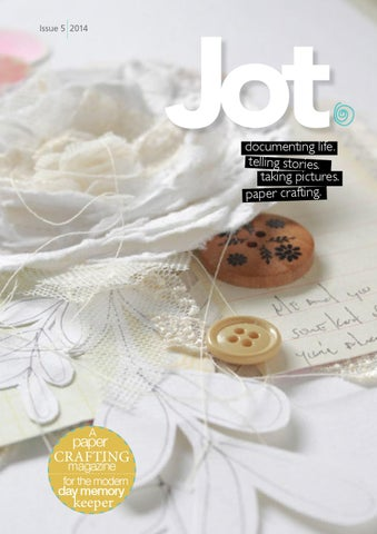 Jot Magazine Issue 5 cover