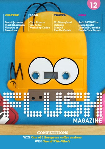 Flush Magazine #12 cover