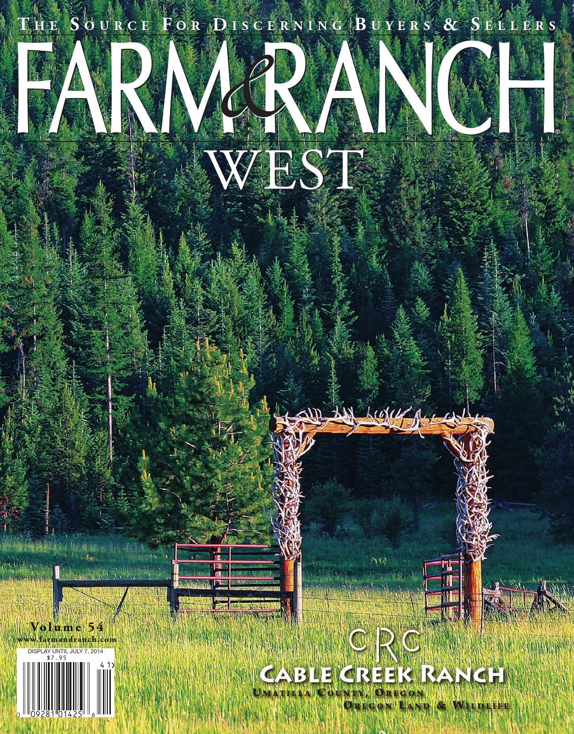 Issuu Farm Amp Ranch West 54 By Farm And Ranch Publishing L L C