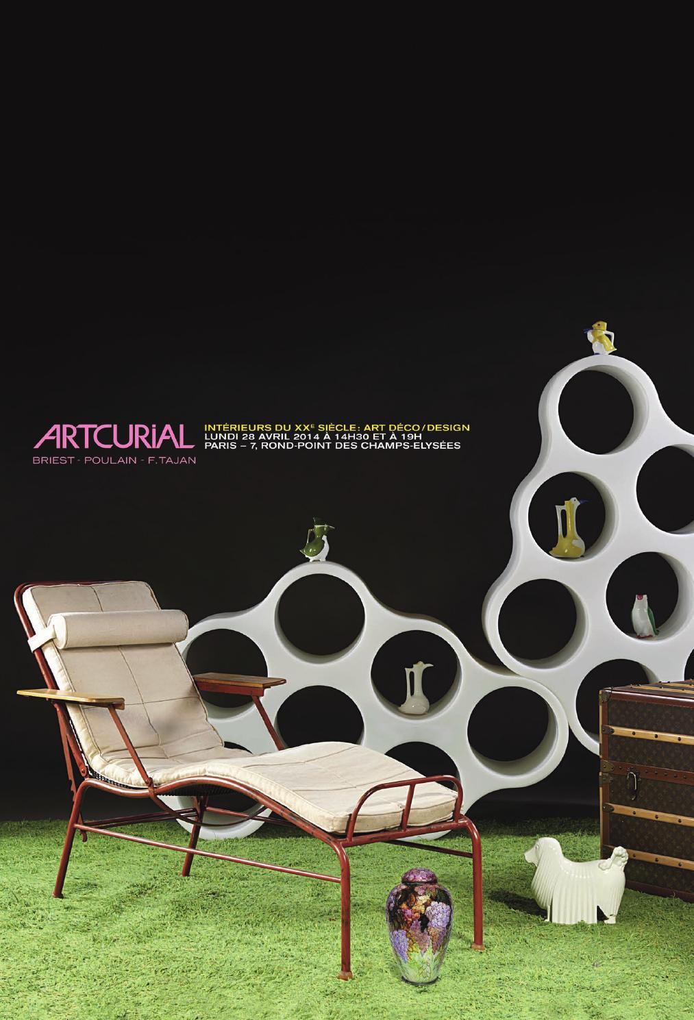 Issuu int rieurs du 20e si cle art d co design by artcurial for Interieurs design