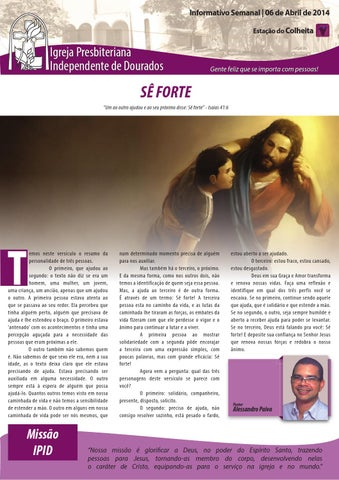 Boletim Informativo 06.04.2014