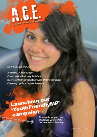 Ace - The Youth Employment UK e-Mag APRIL 14