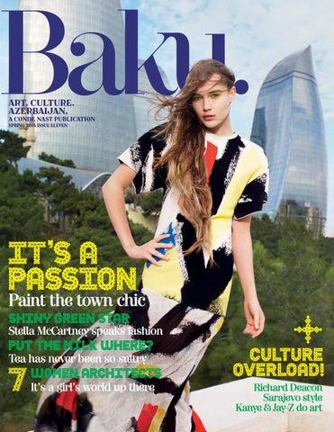 Zinio baku 11 2014 cover