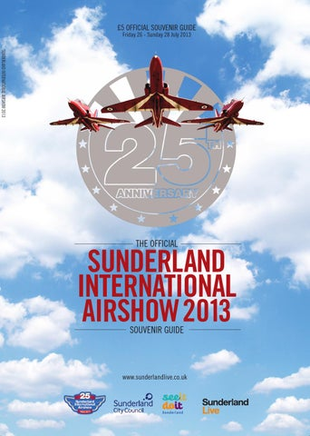 Sunderland Airshow 2013 cover