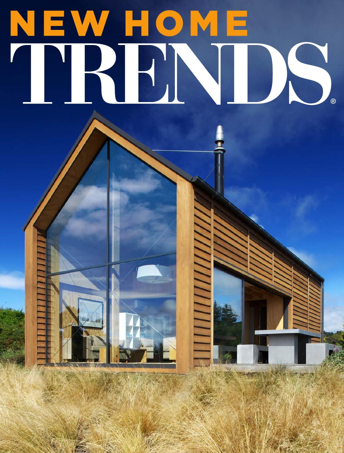 Issuu new homes trends new zealand vol 30 04 by for Trends in new homes