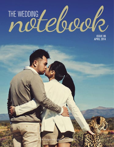 The Wedding Notebook April 2014 cover