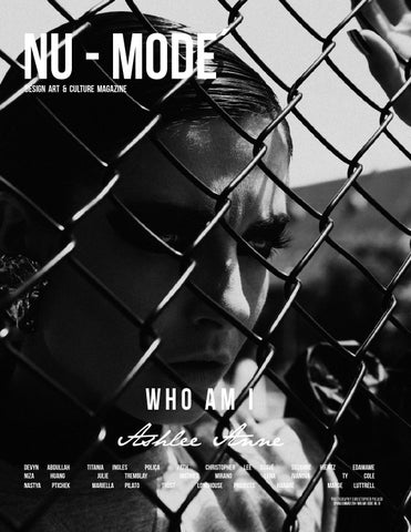 "Nu mode´ Magazine #10 ""Who Am I"" Spring/Summer Edition cover"